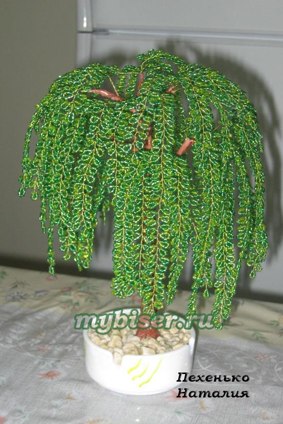 Деревья из бисера (бисероплетение) Сайт по теме: деревья и цветы из бисера и содержит фото, видео, описания, мастер.