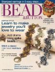 Журнал по бисероплетению Bead & Button № 111 October 2012