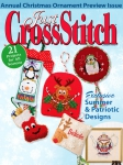 Just Cross Stitch Annual Christmas Ornaments 2013