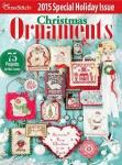 Just Cross Stitch. Christmas Ornaments N°6 2015