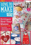 Love to make with Woman\'s Weekly - January 2016