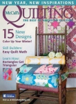 McCall\'s Quilting - January/February 2016