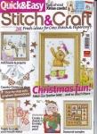 Quick & Easy Stitch & Craft №159 2007