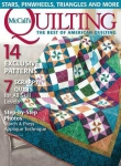 McCall's Quilting Vol.23 №5 2016