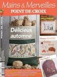 Mains & Merveilles Point de Croix №122 2017