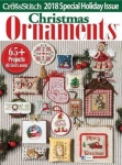 Just Cross Stitch Vol.36 №6 Christmas Ornaments 2018