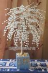 Дерево из бисера: Зимнее дерево