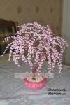 Дерево из бисера: сакура