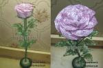 Роза (бисер, рубка)