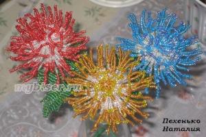 thumbs c2 Хризантемы из бисера