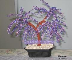 thumbs d4 Сиреневое дерево из бисера