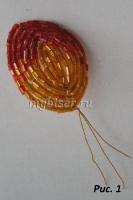 thumbs ris1 Мастер класс Французская техника плетения (техника низания дугами)