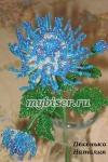 мастер-класс хризантема из бисера