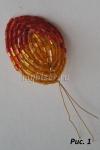 Мастер-класс Французская техника плетения (техника низания дугами)